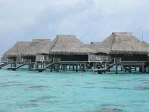 Mo'orea Island bungalows