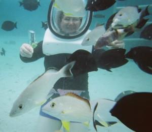 Helmut dive ... Tahiti lagoon